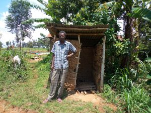 The Water Project:  Khamala Latrine