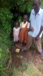 The Water Project:  Mr Jared And Some Of His Children