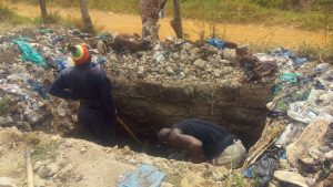 The Water Project:  Latrine Pit