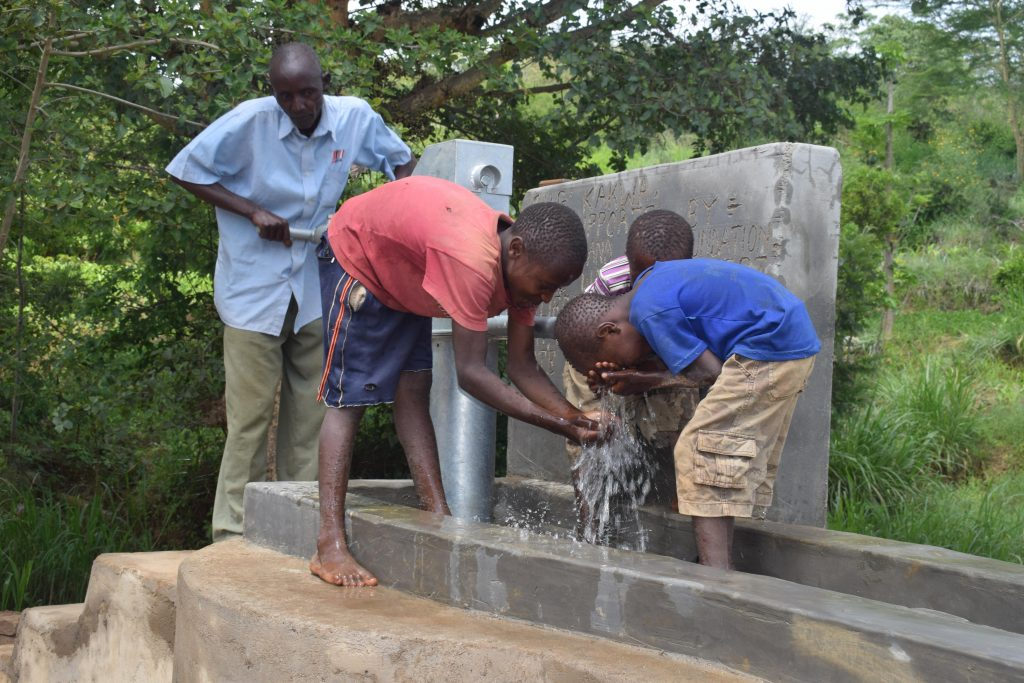 The Water Project : 9-kenya4867-clean-water