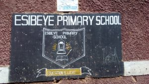 The Water Project:  School Sign
