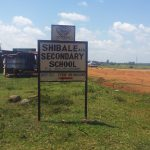 The Water Project: Shibale Secondary School -  School Sign