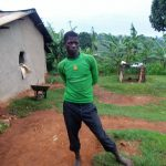 The Water Project: Chandolo Community -  Joseph Ingara At His Homestead