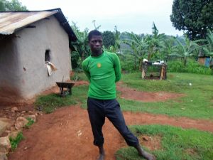 The Water Project:  Joseph Ingara At His Homestead