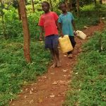 The Water Project: Elukani Community -  Walking To The Spring
