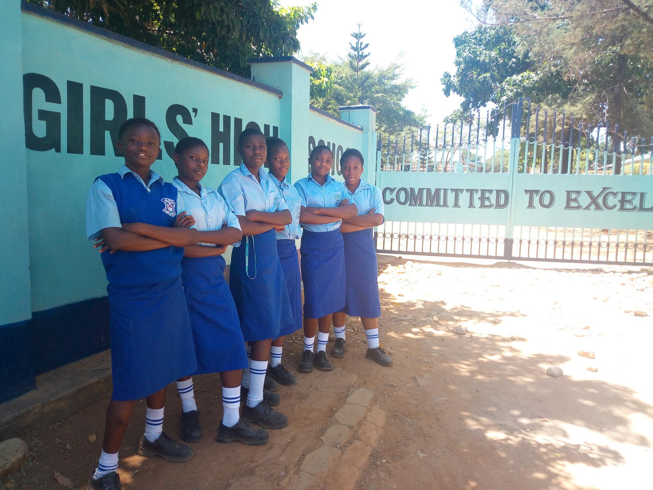 The Water Project : 1-kenya18289-school-gate