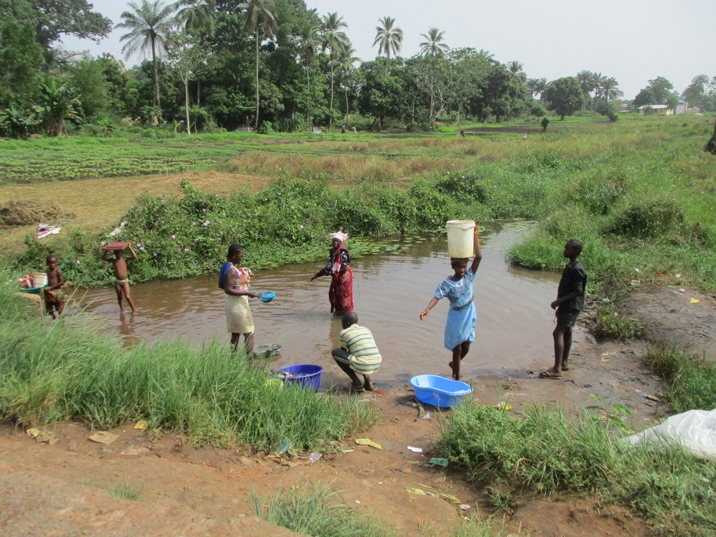The Water Project : 1-sierraleone18259-swamp
