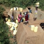 The Water Project: Esibeye Primary School -  Current Water Source