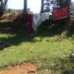 The Water Project: Elukani Community -  A Rare Clothesline