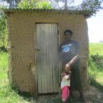 The Water Project: Futsi Fuvili Community C -  Jacklines Latrine