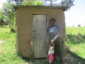 The Water Project:  Jacklines Latrine