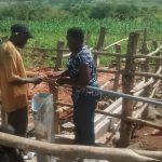The Water Project: Byebega-Kirisa Community -  Pump Installation