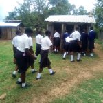 The Water Project: Shanjero Secondary School -  Latrines