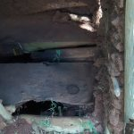 The Water Project: Ivulugulu Community, Ishangwela Spring -  Dangerous Latrine Floor
