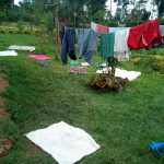 The Water Project: Ikonyero Community, Jesse Spring -  Things Drying