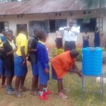 The Water Project: Gidagadi Primary School -  Hand Washing