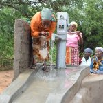 The Water Project: Katuluni Community A -  Clean Water