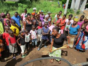 The Water Project:  Breaking First Ground