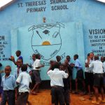 The Water Project: Shamalago Primary School -  Students Excited For Clean Water