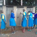 The Water Project: Chebunaywa Primary School -  Latrines