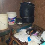 The Water Project: Emwanya Community, Josam Kutsuru Spring -  Inside A Kitchen