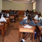 The Water Project: Kaani Lions Secondary School -  Students In Class