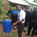 The Water Project: El'longo Secondary School -  Hand Washing Training