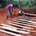 The Water Project: Gidagadi Primary School -  Latrine Construction