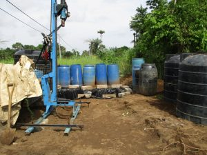 The Water Project:  Drill Rig