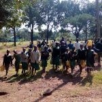 The Water Project: Esibeye Primary School -  Carrying Water