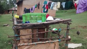 The Water Project:  Dish Rack And Households
