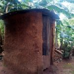 The Water Project: Ikonyero Community, Jesse Spring -  Latrine