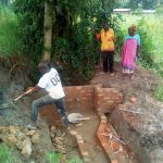 The Water Project: Luyeshe Community -  Spring Construction