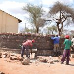 The Water Project: Ikaasu Secondary School -  Tank Construction