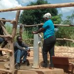 The Water Project: Rubani-Kyawalayi Community -  Pump Installation