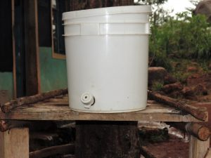 The Water Project:  Empty Hand Washing Station