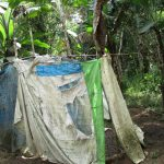 The Water Project: Kolia Community -  Latrine