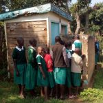 The Water Project: Esibeye Primary School -  Latrines