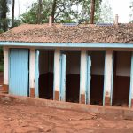 The Water Project: Kaani Lions Secondary School -  Latrines