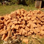 The Water Project: El'longo Secondary School -  Bricks Collected For Construction