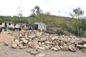 The Water Project:  Rocks The Group Collected