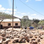 The Water Project: Kivani Primary School -  Rocks The Group Gathered