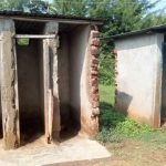 The Water Project: Esibeye Primary School -  Boy Latrines Without Doors