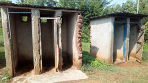 The Water Project:  Boy Latrines Without Doors