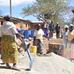 The Water Project: Kivani Primary School -  Tank Construction