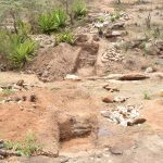The Water Project: Mitini Community -  Trenching