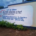 The Water Project: Shanjero Secondary School -  School Entrance