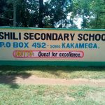 The Water Project: Bushili Secondary School -  School Entrance