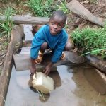 The Water Project: Elukani Community -  Fetching Dirty Water