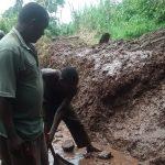 The Water Project: Katugo I-Alu Community -  Construction